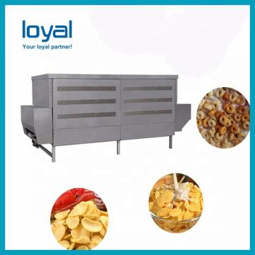 Fry Snacks Fried Wheat Flour Chips Snacks Making Machine Production Line
