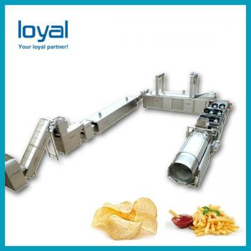 Automatic Commercial Potato Chip Maker , Fryer French Fries Potato Chips Production Line