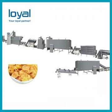 Frying Wheat/Corn Flour Snack Food Extruder Machine