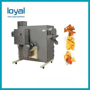 Wheat flour pellet snack food chips extruding machinery/Frying Corn Fryums Food Extruder