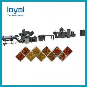 Frying puff corn snack machinery fried wheat flour chips process line