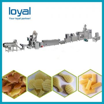 Automatic 2d 3d fryums papad snack pellet goal gapa food making machine production line