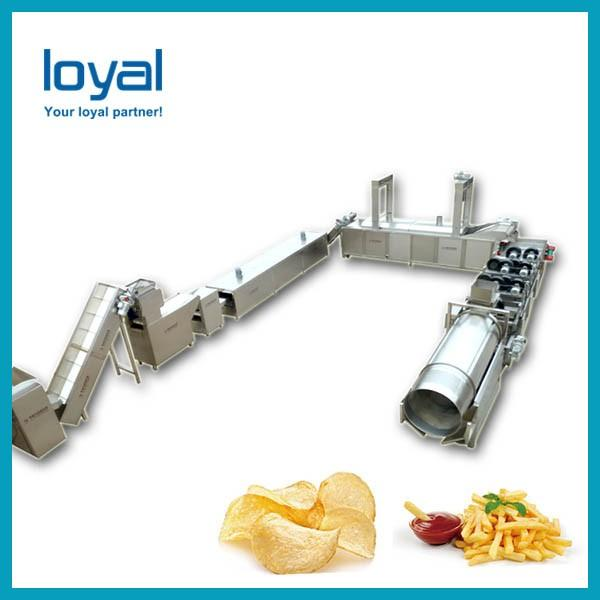 Automatic Commercial Potato Chip Maker , Fryer French Fries Potato Chips Production Line #1 image