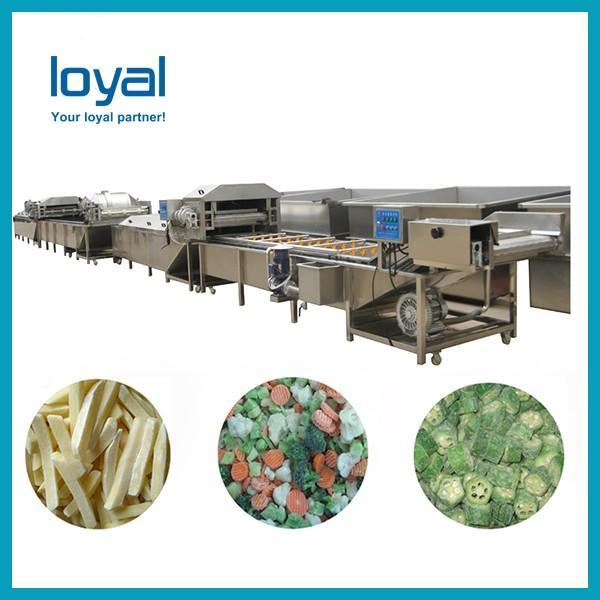 Full Automatic Potato Chips Making Machine Frozen French Fries Machinery #3 image
