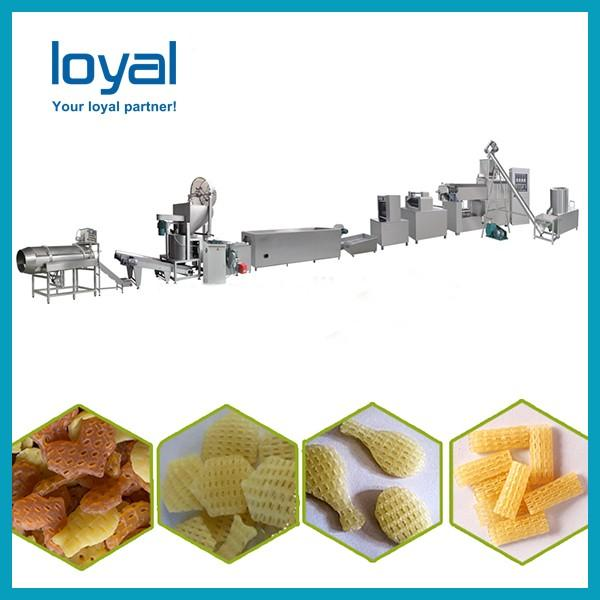 Automatic 2d 3d fryums papad snack pellet goal gapa food making machine production line #1 image